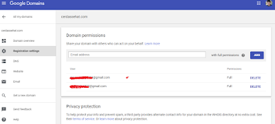 pindah akun google.domain