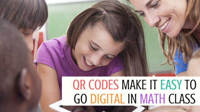Keep the pencil and paper math, but kick it up a notch with QR codes for self-checking in your math class. Your kids will love the chance to use technology. | Meredith Anderson - Momgineer