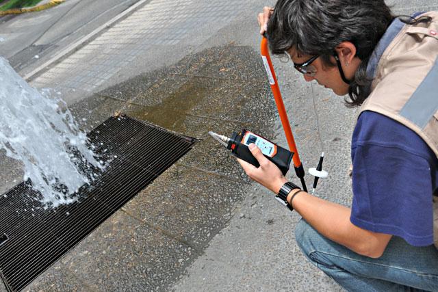 Localización de fugas de agua en León