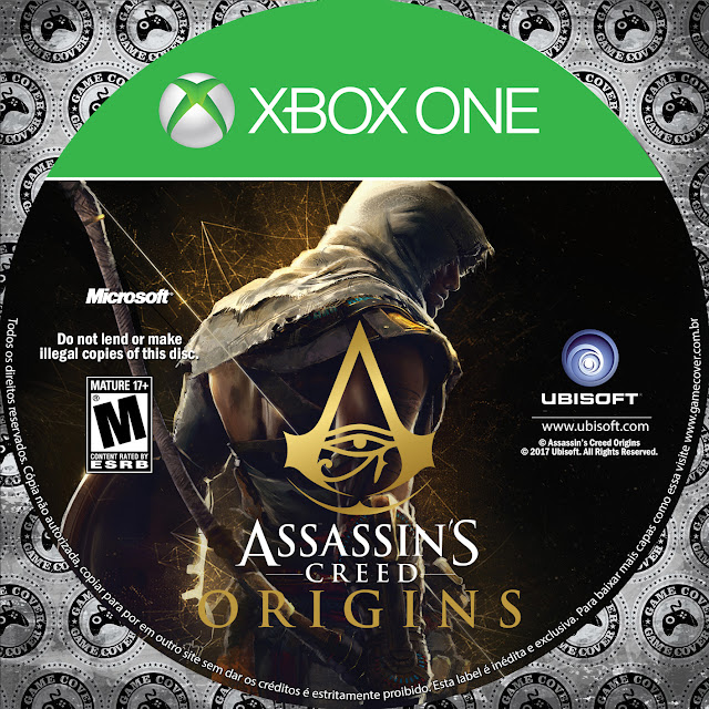 Label Assassins Creed Origins Xbox One [Exclusiva]