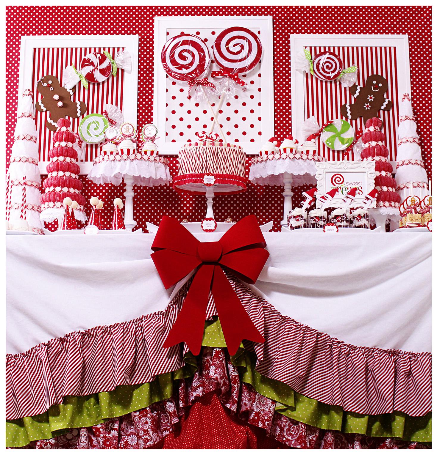 Kara's Party Ideas Candy Land Christmas Party | Kara's ...