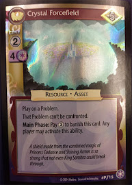 My Little Pony Crystal Forcefield The Crystal Games CCG Card