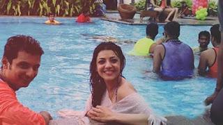 kajal agarwal bikini 3 - Kavalai Vendaam Movie Stills-Jeev,Kajal Agarwal Rare Images of this Movie