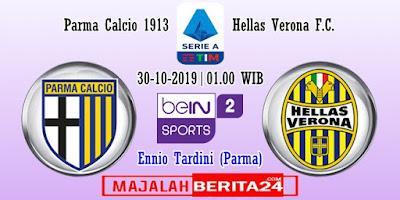 Prediksi Parma vs Hellas Verona — 30 Oktober 2019