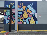 Casula Street Art   Mall mural by Nico