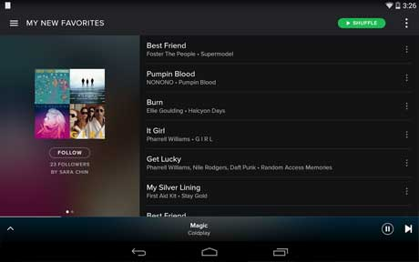 Aplikasi Dengar Musik Android