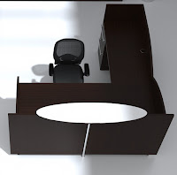 Modern Reception Desk at OfficeAnything.com
