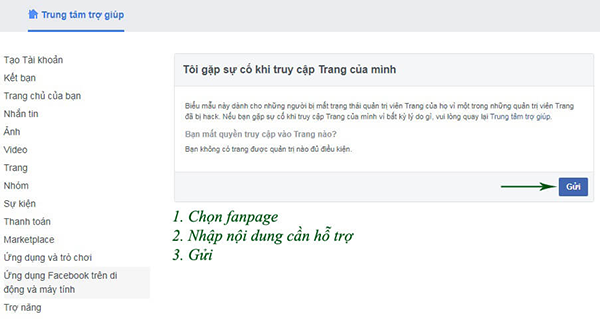 lay lai quyen admin page