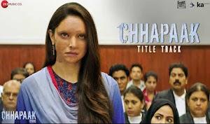 छपाक - Chhapaak Title Track - by Arijit Singh