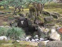 Moss and rocks - Kenroku-en Garden, Kanazawa, Japan