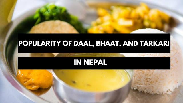 Daal Bhaat In Nepal