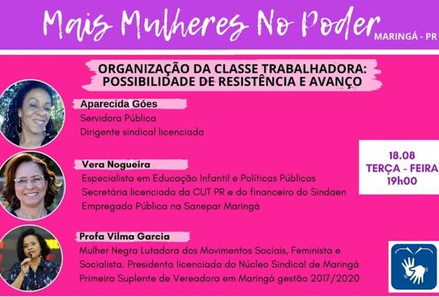 Live do movimento Mais Mulheres no Poder. Café com Jornalista
