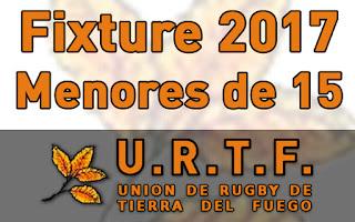 [URTF] Fixture - Torneo Provincial 2016-2017 - Menores de 15