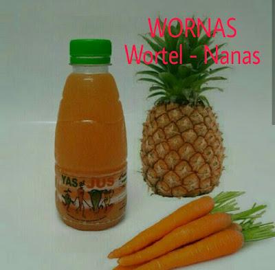 Jus Wortel Nanas