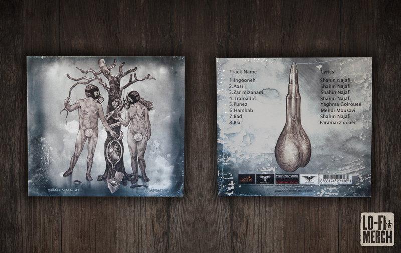 Shahin Najafi Tramadol Audio CD