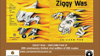 ZIGGY WAS - UNICORN PAN LP Labyrinth of Thoughts records