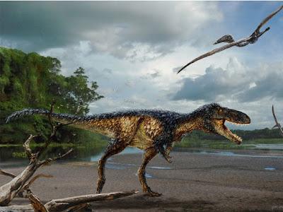 Estudo de novo fóssil mostra como Tiranossauro rex se tornou rei