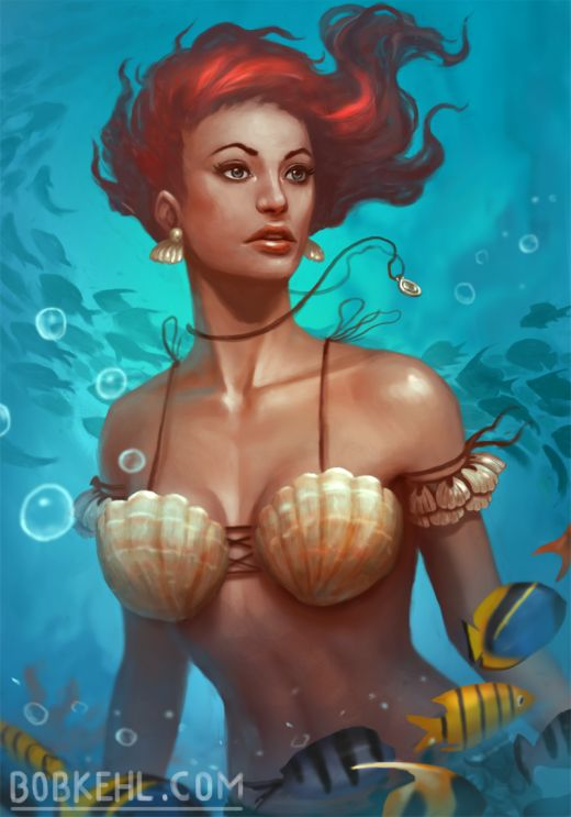 Bob Kehl deviantart artstation arte ilustrações fantasia