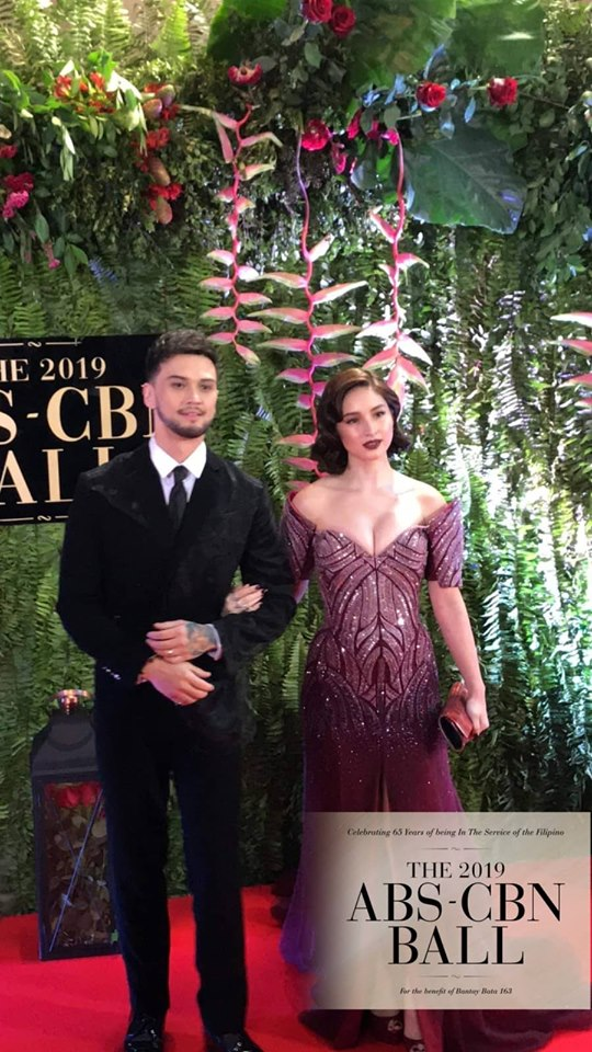 Billy Crawford and his wife Coleen Garcia ABS-CBN Ball 2019