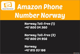 Amazon Phone Number Norway