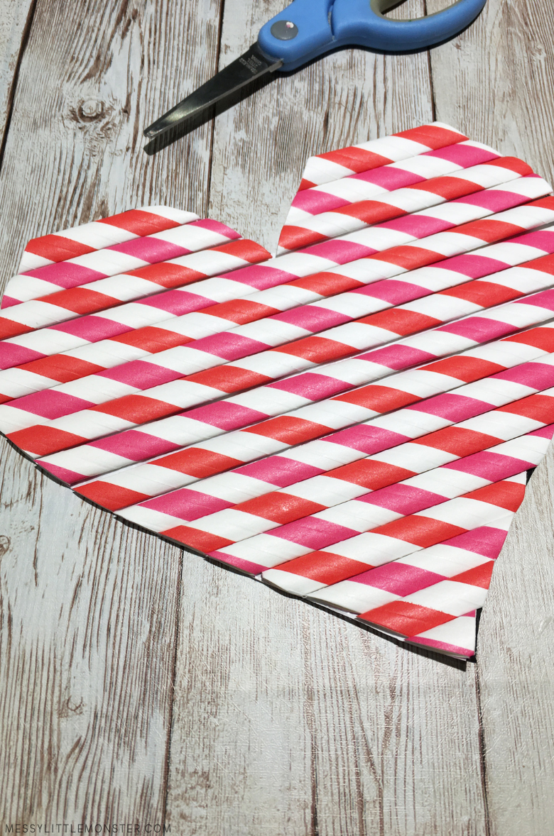 heart craft for kids