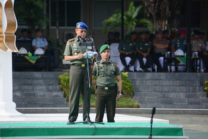 Pangdam Andi Sumangerukka, Pimpin Upacara Operasi Gaktib dan Yustisi di Wilayah Kodam XIV/Hsn