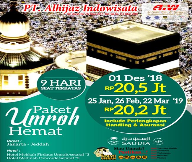 Lancar Umroh Travel Alhijaz Indowisata