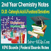 Carboxylic Acid And Functional Derivatives 2nd Year Chemsitry Notes