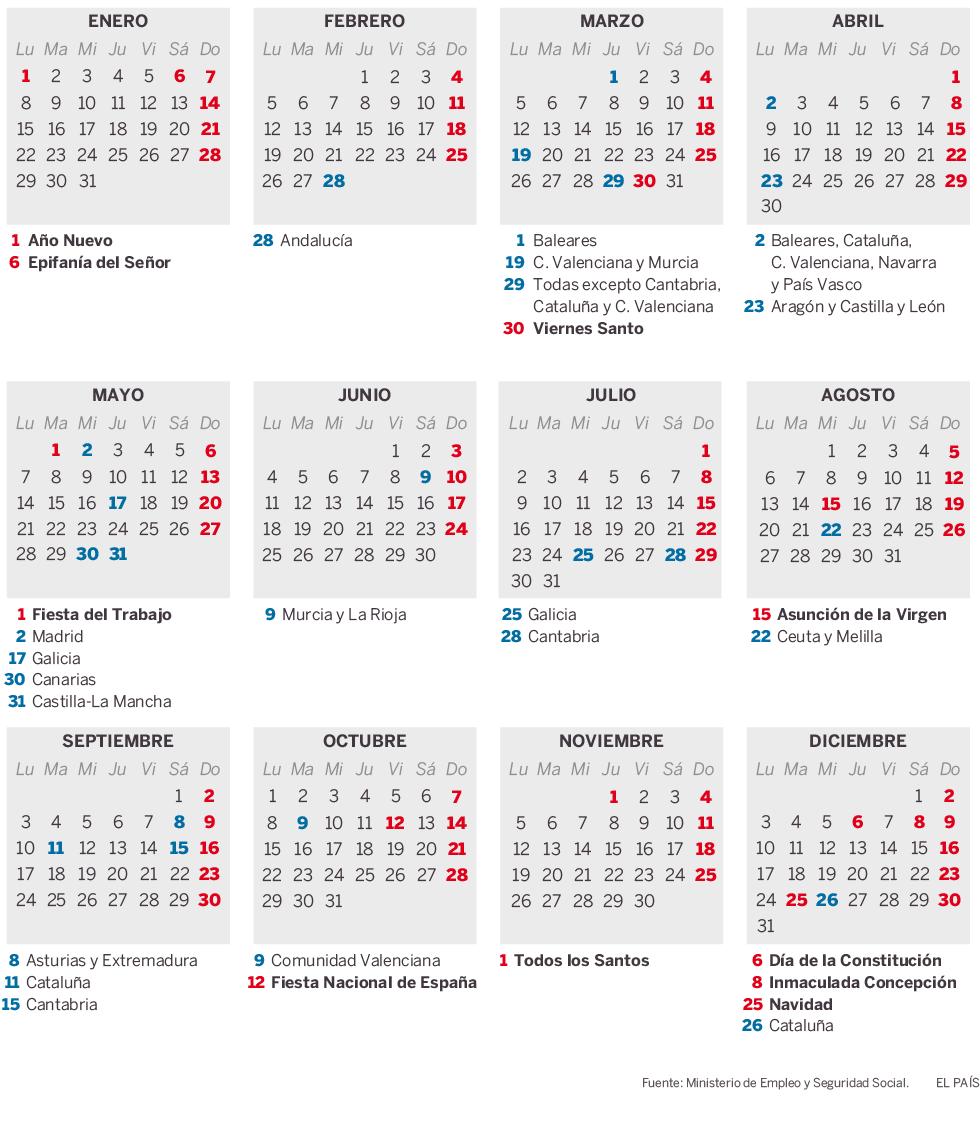 Calendario Laboral De Cataluna.Lidl Ugt Estatal El Calendario Laboral De 2018 Permite