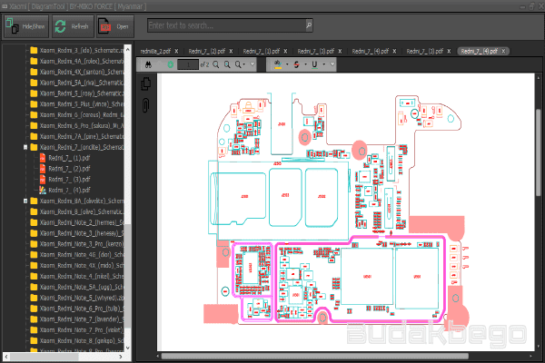 Download Xiaomi Diagram Tool By Miko Force Free and Tested