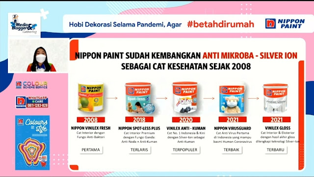 Nippon paint silver ion