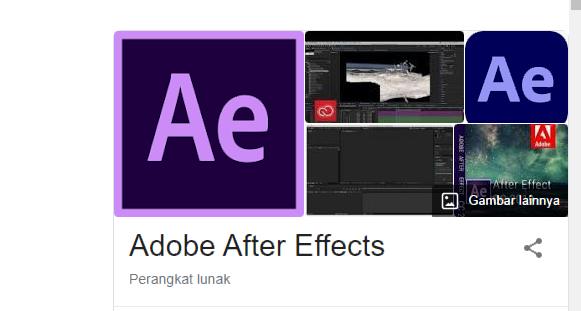 kumpulan tutorial Adobe After Effects