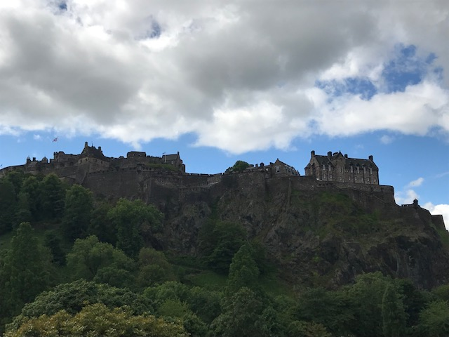 Edinburgh, Castle, Princes Street,