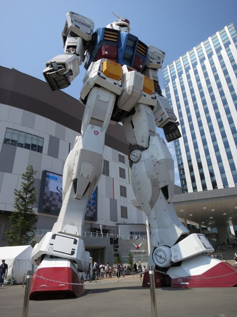 How many days in Tokyo Japan. Plan, Travel, trip, vacation, holiday, tour. Odaiba. Gundam Robot. Tokyo Consult, TokyoConsult.