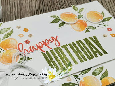 Sweet as a Peach, Biggest Wish, Stampin' Up!
