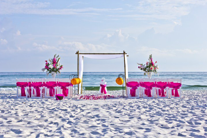Do it yourself ideas and projects: Amazing Beach Wedding ...