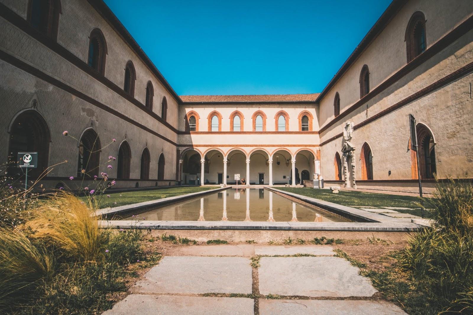 Château Sforza Milan city guide
