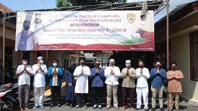Hari Raya Idul Adha 1441 H, Polresta Balam  Qurbankan 5 Sapi dan 3 Kambing Kepada Masyarakat