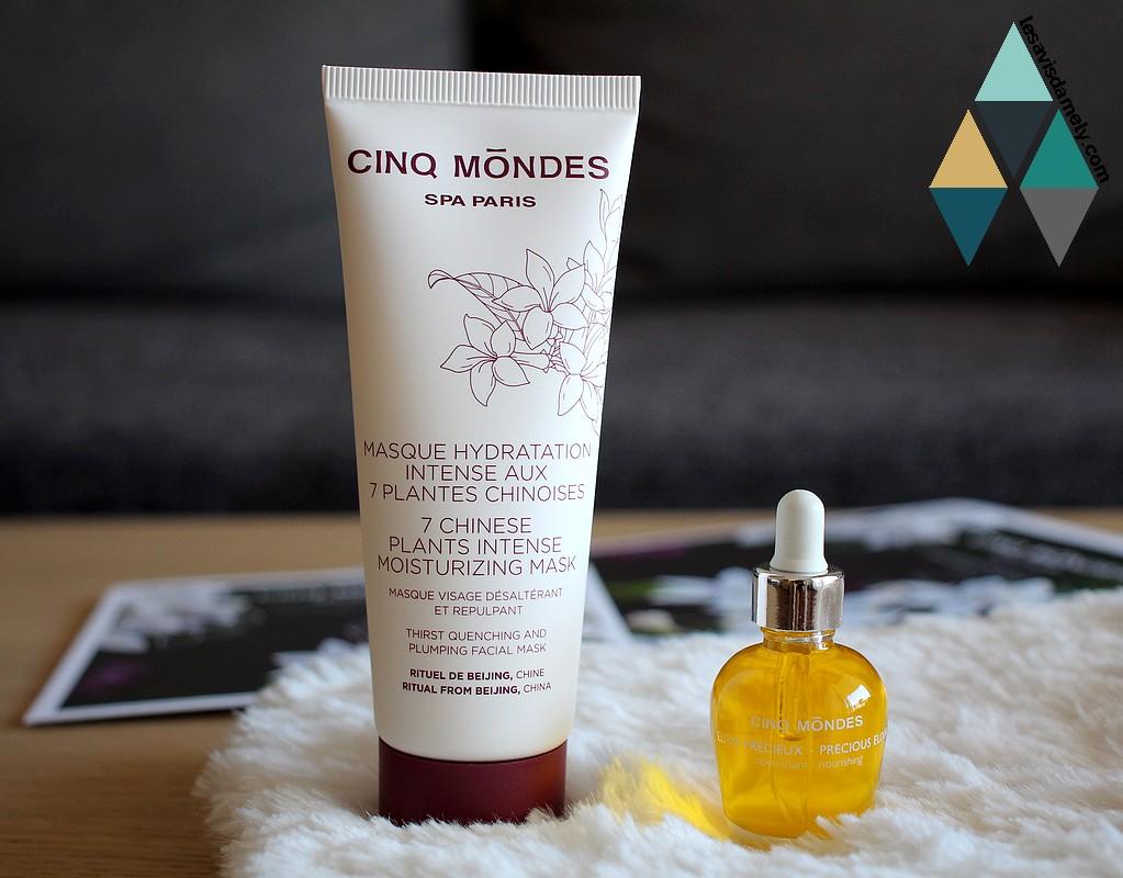 avis et test soin visage peau sèche cinq mondes