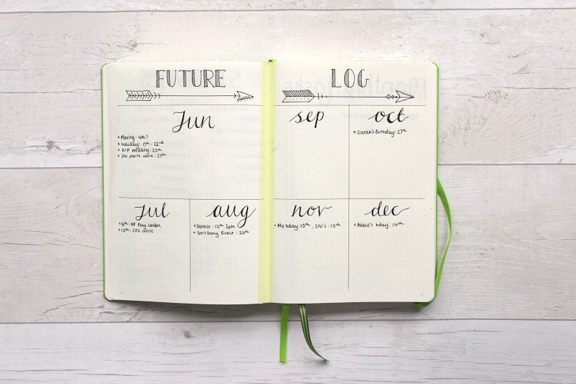 Future Log Sarah's Chapter