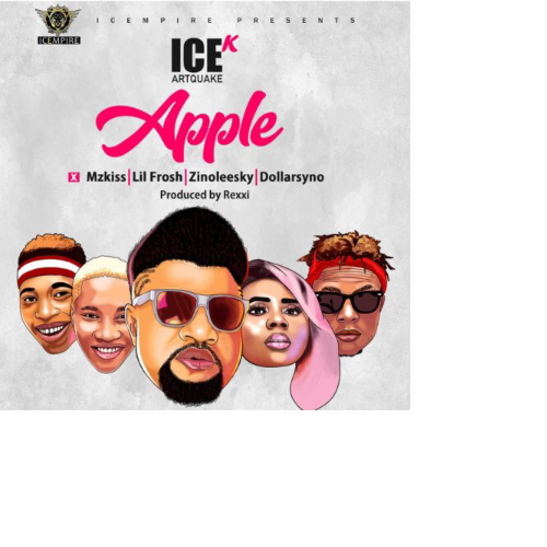 "VIDEO:ICE K (ArtQuake) – ""Apple"" ft. Mz Kiss, Lil Frosh, Zinoleesky & Dollarsyno"