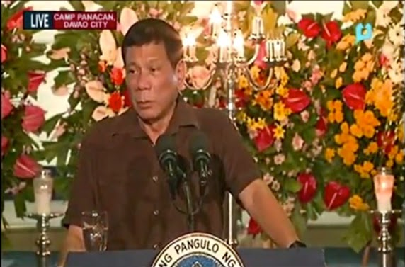 Duterte names judges, policemen, military men and LGU's linked to drugs, gives them 24 hours