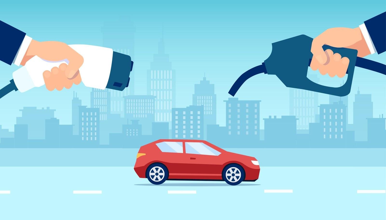 Plug-in hybrid vs. electric cars