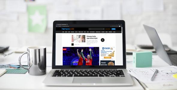 Kompasweb - Template Blogger Mirip Kompas