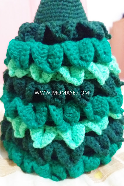 Christmas, Christmas tree, Christmas countdown, DIY Christmas decors, crochet Christmas tree