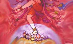 """नटराज कि प्रतिमा में भगवान शिव के पैरों में पड़े """"अपस्मार"""" की कथा। Story of Apasmaar and Lord Shiv."""