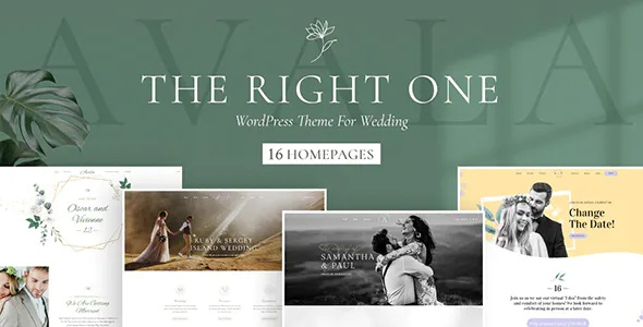 Best Wedding WordPress Theme