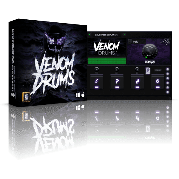 YC Audio Venom Drums Full version