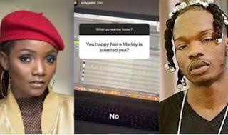 Song Writer Simi Finally Breaks her silence on Naira Marley's arrest