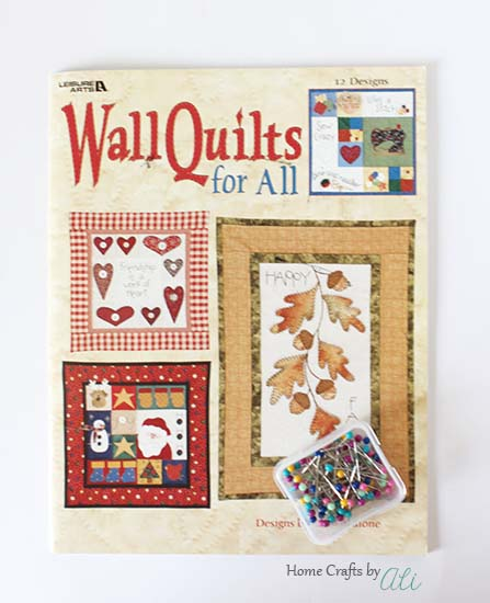 holiday wall quilt book straight pins enter to win